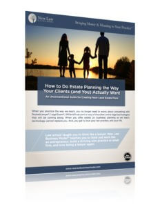 Cover of New Law Business Model Unconventional Guide to Estate Planning