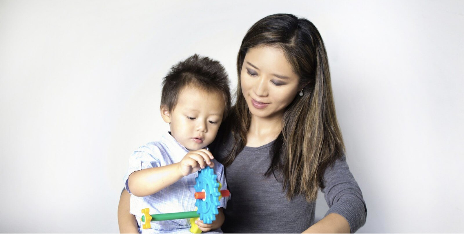 Amy Hsiao, New Law Business Model-trained, Personal Family Lawyer, playing with her young son